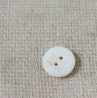 【ボタン】シェル(貝) -レースM 1.8cm