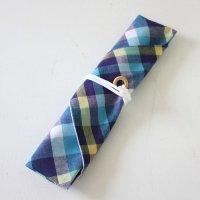 【roughAsia】オリジナル 箸袋(箸キャップ付) -マドラスチェック