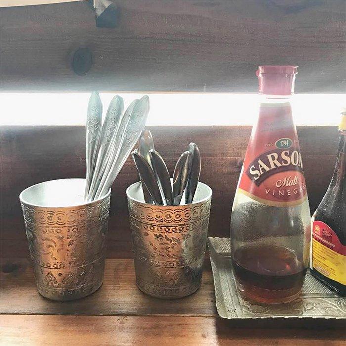 タイ料理屋で