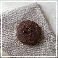 【ボタン】チョコマーブル 2.0cm