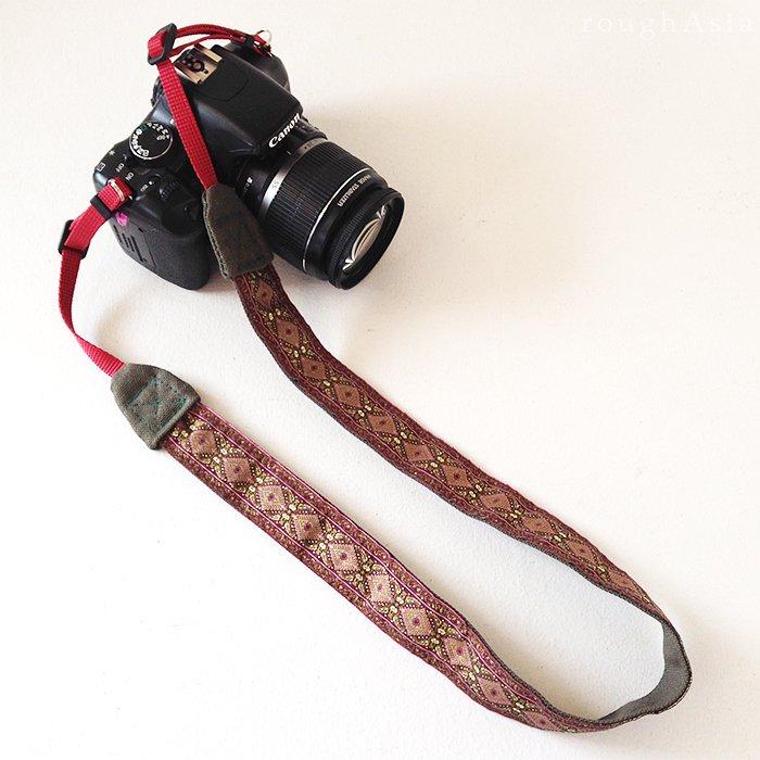 【roughAsia】オリジナル カメラストラップ −ハラー