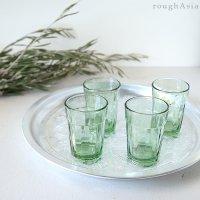 インド/リサイクルガラスのチャイグラス