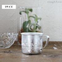 タイ/アルミ製のカップ Sサイズ −取っ手付コップ/マグカップ