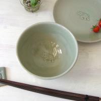 【セラドン焼】お茶碗−ゾウ
