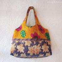 【various】 カンタ刺繍(ラリーキルト) ショルダーバッグ