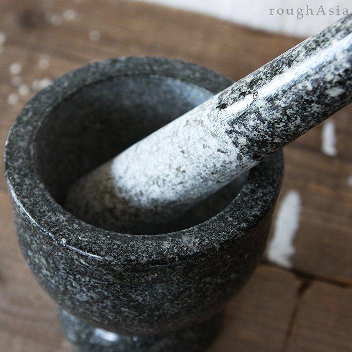 石うすを使った料理