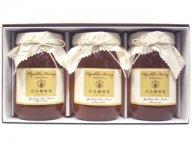 [送料無料]国産蜂蜜3本ギフトセット