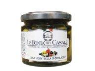 グリーンオリーブの実 瓶詰め「ベッラ デ セリニョーラ」(種付き) 180g