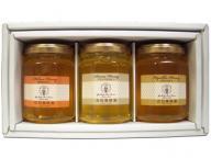 国産蜂蜜160g 3本ギフトセット