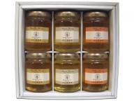 [送料無料]国産蜂蜜160g 6本ギフトセット