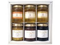 [送料無料]国産蜂蜜&蜂蜜ジャムギフトセット[ジャム3アカシア1百花1ミカン又はトチ1]
