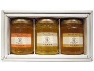 【お中元ギフト・暑中見舞い・残暑見舞い専用】国産蜂蜜160g 3本ギフトセット