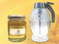 [送料込み]国産百花蜂蜜160g&ミニハニーディスペンサーセット
