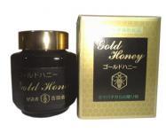 ゴールドハニー180g(蜂蜜・花粉・プロポリス・ローヤルゼリー)