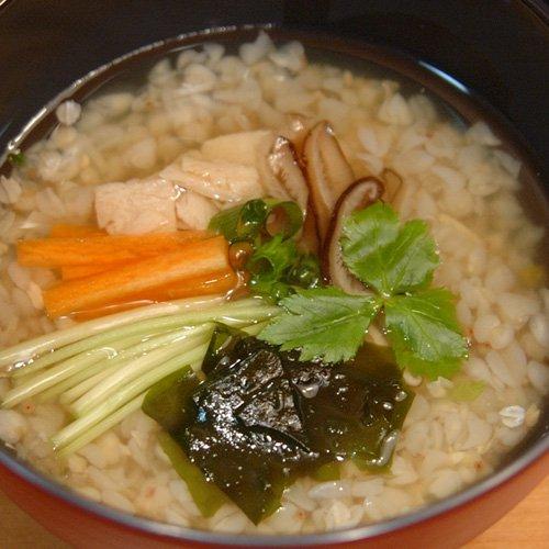 即席そば米汁1食お試し(阿波郷土料理)総本家橋本詳細画像