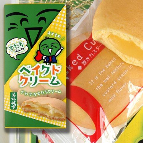 すだちくんのベイクドクリーム6個入【四国徳島のお土産菓子】