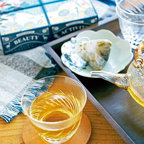 INDIGO HERB TEA 富士セット 阿波の食用藍100% (ハーブティー4種パック)詳細画像