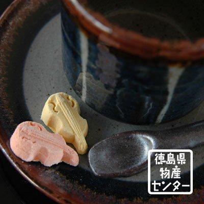 和三盆 阿波の風情中箱(32粒入)落雁/干菓子/徳島名産詳細画像