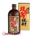 鳴門金時 焼き芋焼酎720ml  徳島の地酒【12本(1ケース)以上買うと送料無料!】