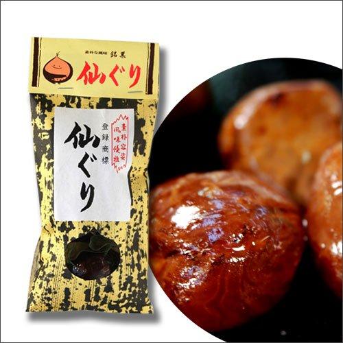 素朴容姿 風味優雅 仙ぐり70g 徳島の素朴な風味(栗の渋皮煮) 銘菓 M-30