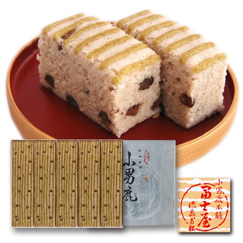 小男鹿(さおしか)五棹(和風生菓子)(冨士屋徳島銘菓)お中元/お歳暮/贈答品/ギフト
