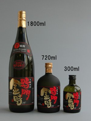 本格芋焼酎 鳴門金時25° 1800ml 一升瓶(徳島の地酒) ギフト/贈答品/父の日詳細画像