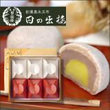 栗入り薯蕷まんじゅう 愛慕栗(あいぼくり) 6個入