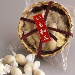 阿波和三盆【芋らくがん】15粒籠入/干菓子/落雁/サツマイモ入り【注文製造商品】