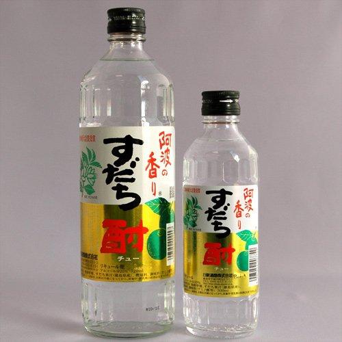 阿波の香り すだち酎300ml スダチの焼酎 徳島の地酒 日新酒類詳細画像