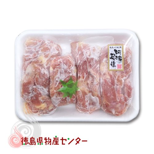 送料無料 阿波尾鶏(あわおどり) 鶏もも肉1kg 徳島の地鶏[冷凍便同梱不可] お歳暮/お中元/詳細画像