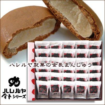 金長まんじゅう30個入(四国・徳島銘菓 株式会社ハレルヤ)