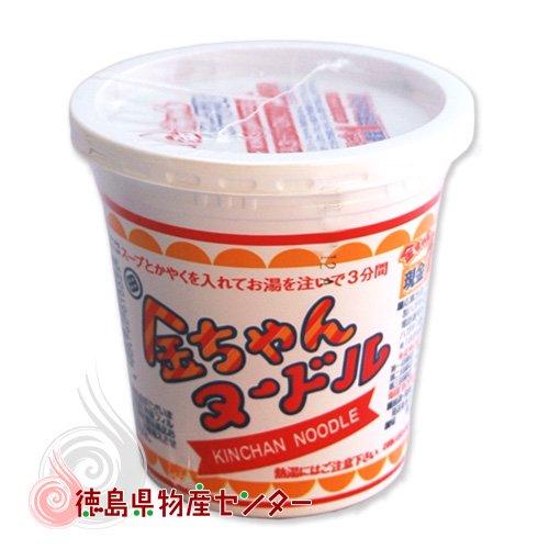 金ちゃんヌードル1個(徳島製粉 金ちゃんカップラーメン)