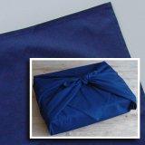 藍染め風呂敷(濃紺)  阿波本藍製品は天然藍!【母の日】【敬老の日】