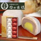 栗入り薯蕷まんじゅう 愛慕栗(あいぼくり) 10個入