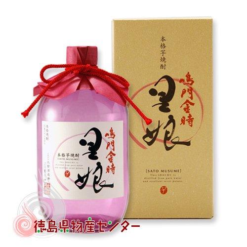 本格芋焼酎!鳴門金時 里娘720ml 徳島の地酒【12本(1ケース)以上買うと送料無料!】