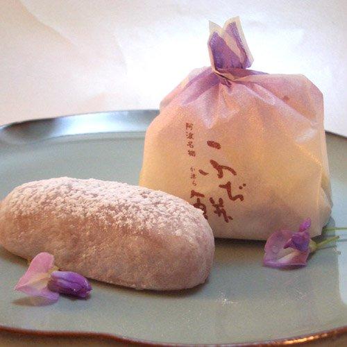 か津ら ふぢ餅6個入(阿波徳島 岡萬本舗の生菓子)(徳島の銘菓)