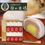 栗入り薯蕷まんじゅう 愛慕栗(あいぼくり) 16個入