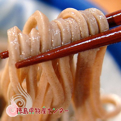橋本の干しそば3食入(良質玄蕎麦使用)徳島から百年の伝統の名産をご家庭に!お中元/お歳暮/詳細画像