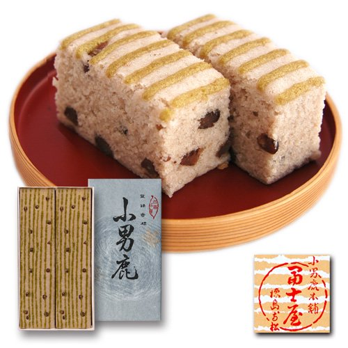 小男鹿(さおしか)二棹(標準×2) 上生菓子 冨士屋 徳島銘菓 お中元/お歳暮/贈答品/ギフト