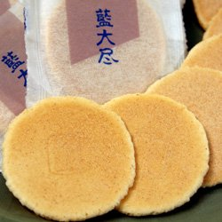 ふやきせんべい 藍大尽 13入 岡萬本舗 徳島の銘菓詳細画像