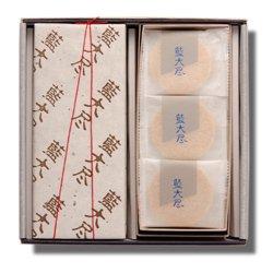 ふやきせんべい 藍大尽 26入 岡萬本舗 徳島の銘菓詳細画像
