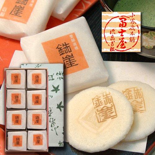 ふやきせんべい鉄崖 ニ枚包×16入 冨士屋 徳島の銘菓