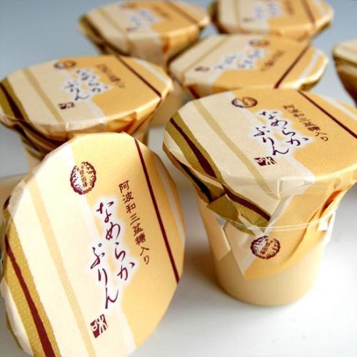 和三盆糖入り なめらかぷりん 4個入/お中元/お歳暮/贈答品/ギフト詳細画像