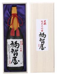 香住鶴 生酛(生もと)純米大吟醸 福智屋 1800ml 【高級木箱入り】