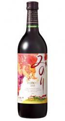 神戸ワイン 2015年産新酒みのり(赤) 720ml