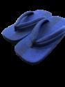 [江戸てん] 限定雪駄! 草履 ラジアル底 久留米スラブ生地オール クッション鼻緒 日本製