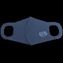 [江戸てん]UVカット  ドライメッシュ オリジナル柄入り洗って繰り返し使える立体マウスカバー 布マスク メンズ レディース フリーサイズ 001-097ゴロン猫 インディゴ 1枚