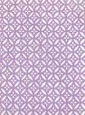 [梨園染]手ぬぐい 注染 綿100% 日本製 江戸てん限定色 花七宝 うすむらさき