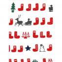 手ぬぐい クリスマス