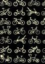 【日本製】 手ぬぐい 自転車(黒)
